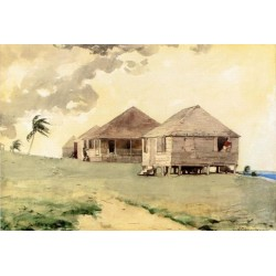 Tornado, Bahamas by Winslow Homer - Art gallery oil painting reproductions