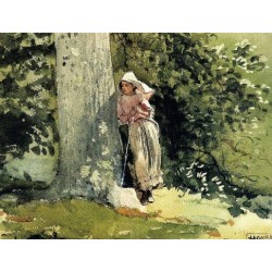 Weary by Winslow Homer - Art gallery oil painting reproductions