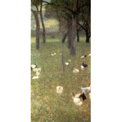 After the Rain by Gustav Klimt- Art gallery oil painting reproductions