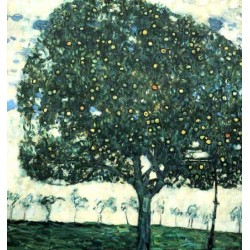 Apple Tree II by Gustav Klimt- Art gallery oil painting reproductions