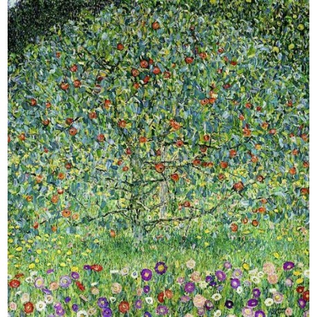 Apple Tree by Gustav Klimt- Art gallery oil painting reproductions