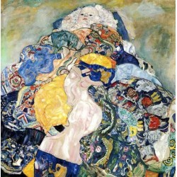 Baby by Gustav Klimt- Art gallery oil painting reproductions