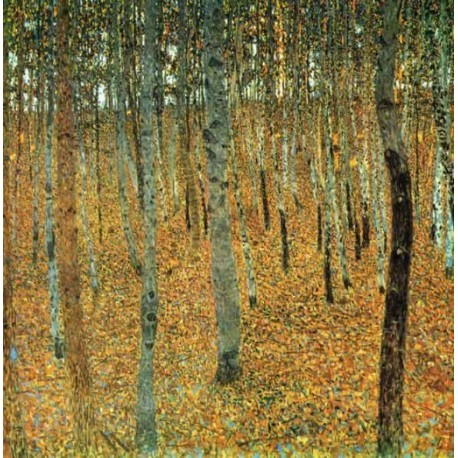 Beech Grove by Gustav Klimt- Art gallery oil painting reproductions