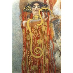 Hygeia by Gustav Klimt- Art gallery oil painting reproductions