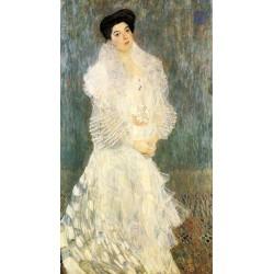 Portrait of Hermine Gallia by Gustav Klimt-Art gallery oil painting reproductions