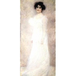 Portrait of Serena Lederer by Gustav Klimt-Art gallery oil painting reproductions