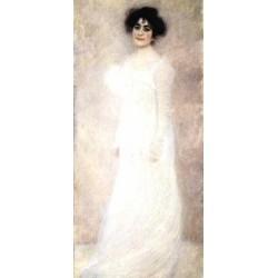 Portrait of Serena Lederer by Gustav Klimt-Art gallery oil painting reproductions