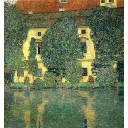 Schloss Kammer on the Attersee by Gustav KlimtTT
