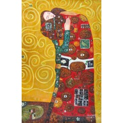 The Accomplishment 2 by Gustav Klimt-Art gallery oil painting reproductions