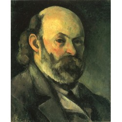 Self Portrait, 1885 by Paul Cezanne-Art gallery oil painting reproductions