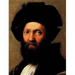 Baldassare Castiglione by Raphael Sanzio-Art gallery oil painting reproductions
