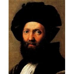 Baldassare Castiglione by Raphael Sanzio-Art gallery oil painting reproductions
