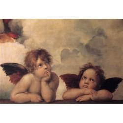 Cherubini by Raphael Sanzio - Art gallery oil painting reproductions