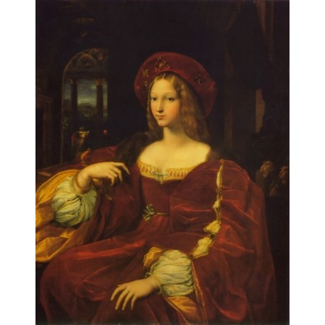 Joanna of Aragon by Raphael Sanzio-Art gallery oil painting reproductions