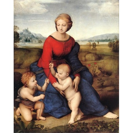 Madonna of Belvedere by Raphael Sanzio-Art gallery oil painting reproductions