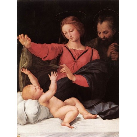 Madonna of Loreto by Raphael Sanzio-Art gallery oil painting reproductions
