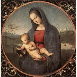 Madonna with the Book by Raphael Sanzio-Art gallery oil painting reproductions