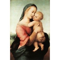 Madonna and Child - The Tempi Madonna by Raphael Sanzio-Art gallery oil painting reproductions