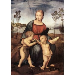 Madonna del Cardellino by Raphael Sanzio-Art gallery oil painting reproductions
