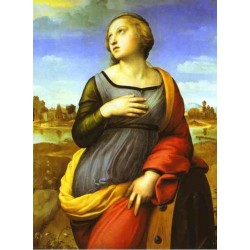 St. Catherine 1508 by Raphael Sanzio-Art gallery oil painting reproductions