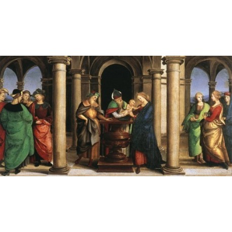 The Presentation in the Temple Odd by Raphael Sanzio-Art gallery oil painting reproductions
