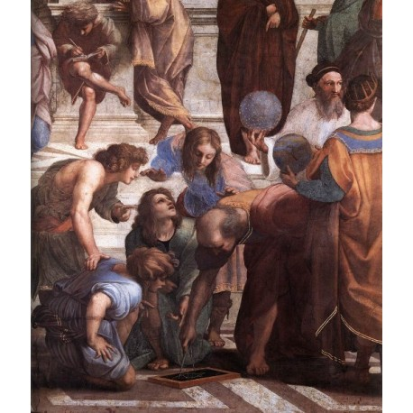 The School of Athens II by Raphael Sanzio-Art gallery oil painting reproductions