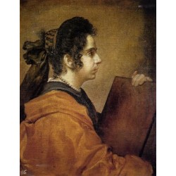A Sibyl 1632 by Diego Velazquez  - Art gallery oil painting reproductions