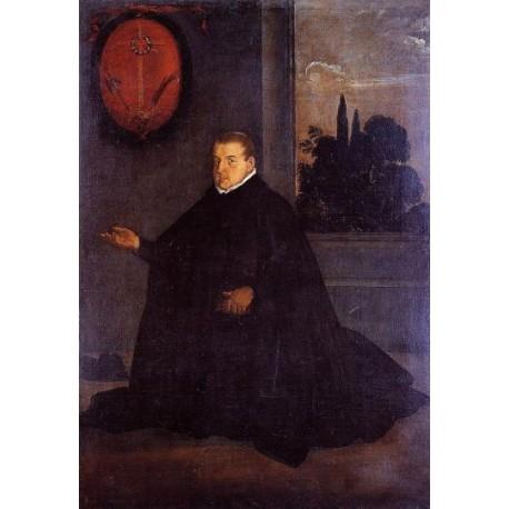 Don Cristobal Suarez de Ribera by Diego Velazquez - Art gallery oil painting reproductions