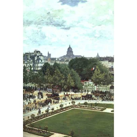 The Garden of the Princess by Claude Oscar Monet - Art gallery oil painting reproductions