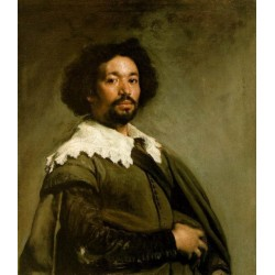 Juan de Pareja 1650 by Diego Velazquez - Art gallery oil painting reproductions
