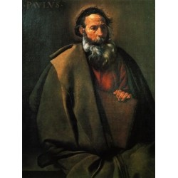 Saint Paul 2 by Diego Velazquez - Art gallery oil painting reproductions
