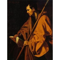 Saint Thomas by Diego Velazquez - Art gallery oil painting reproductions
