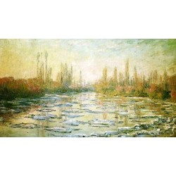 The Ice Floes by Claude Oscar Monet -Art gallery oil painting reproductions