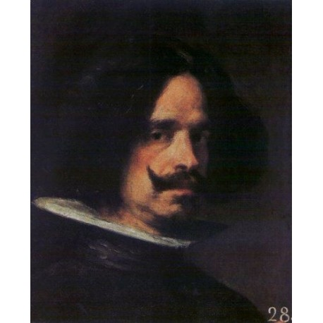 Self Portrait 2 by Diego Velazquez - Art gallery oil painting reproductions