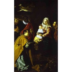 The Adoration of the Magi 1618 by Diego Velazquez - Art gallery oil painting reproductions