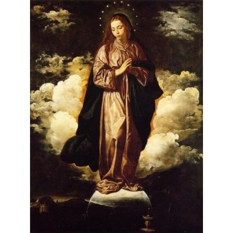 The Immaculate Conception 1618 by Diego Velazquez - Art gallery oil painting reproductions