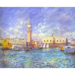 Doges Palace, Venice by Pierre Auguste Renoir -Art gallery oil painting reproductions