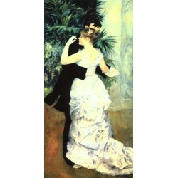 La Danse a Ville by Pierre Auguste Renoir-Art gallery oil painting reproductions