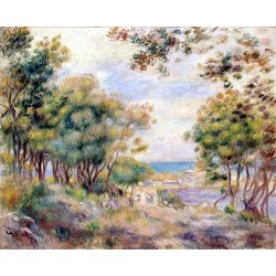 Landscape at Beaulieu by Pierre Auguste Renoir-Art gallery oil painting reproductions