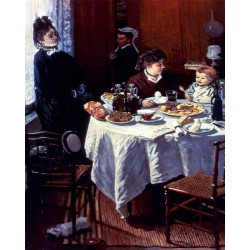 The Luncheon by Claude Oscar Monet - Art gallery oil painting reproductions