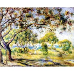 Noirmoutiers by Pierre Auguste Renoir-Art gallery oil painting reproductions