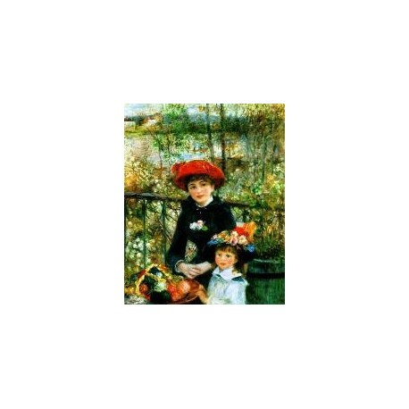 Renoir Thumb by Pierre Auguste Renoir-Art gallery oil painting reproductions