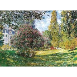 The Park Monceau by Claude Oscar Monet - Art gallery oil painting reproductions