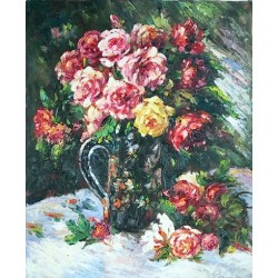 Roses 1879 by Pierre Auguste Renoir-Art gallery oil painting reproductions