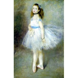 The Dancer by Pierre Auguste Renoir-Art gallery oil painting reproductions