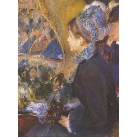 The First Outing 1875 by Pierre Auguste Renoir-Art gallery oil painting reproductions