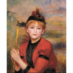The Rambler 1895 by Pierre Auguste Renoir-Art gallery oil painting reproductions