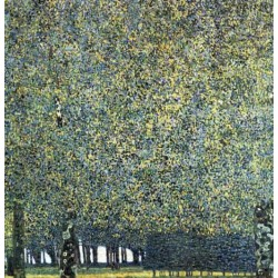 Park by Gustav Klimt-Art gallery oil painting reproductions