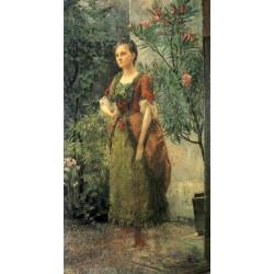 Portrait of Emilie Floge by Gustav Klimt-Art gallery oil painting reproductions