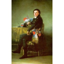 Francisco José de Goya -Ferdinand Guillemardet-Art gallery oil painting reproductions